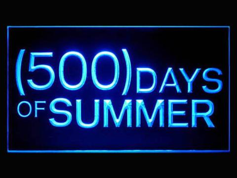 500 Summer Days LED Neon Sign
