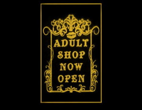 Adult Shop Now Open LED Neon Sign