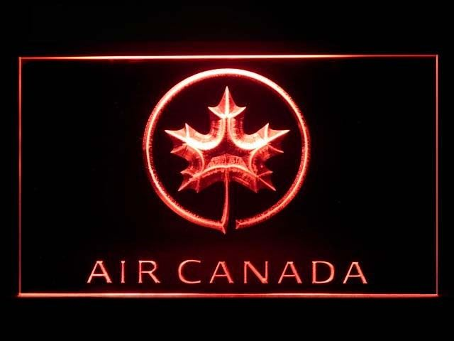 Air Canada Airlines Neon Light Sign