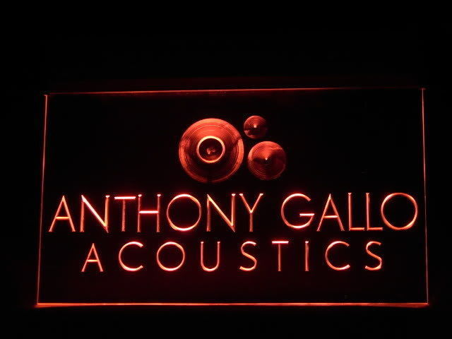 Anthony Gallo LED Light Sign