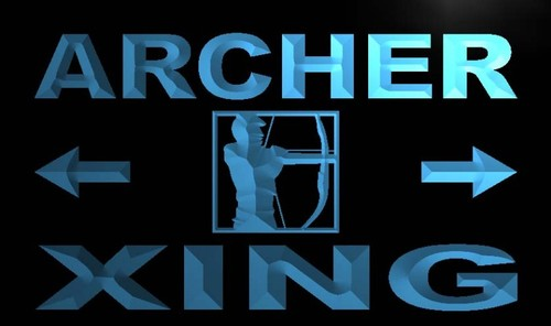 Archer Xing Neon Light Sign