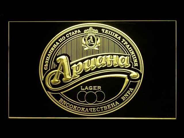 Ariana Bulgaria Lager Neon Sign
