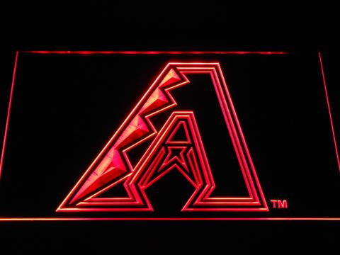 Arizona Diamondbacks A Logo LED Neon Sign