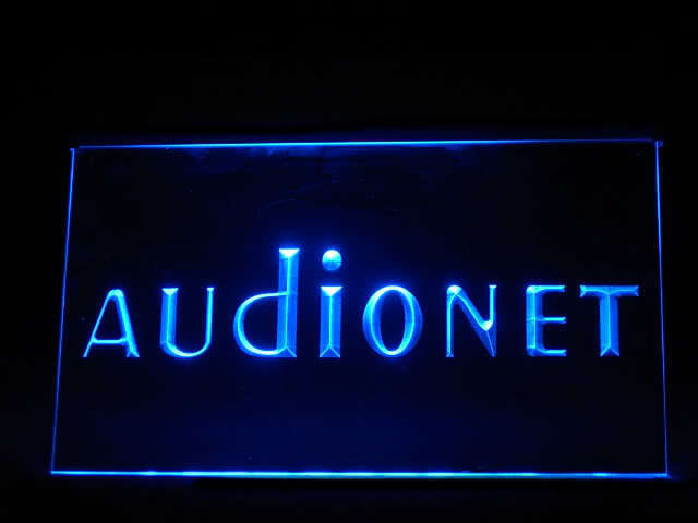 Audionet LED Light Sign