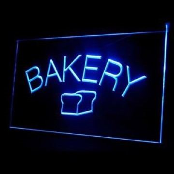 Bakery Bread Fresh Loaf LED Neon Sign