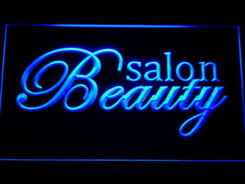 Beauty Salon Script LED Sign