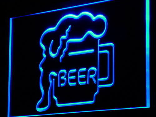 Beer Cup Display Bar Neon Light Sign