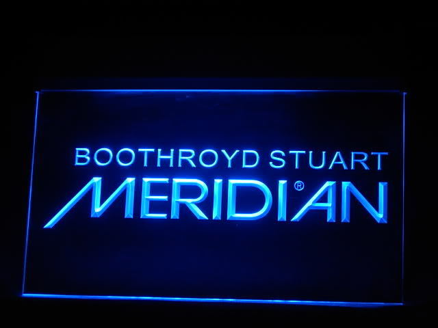 Boothroyd Stuart LED Light Sign