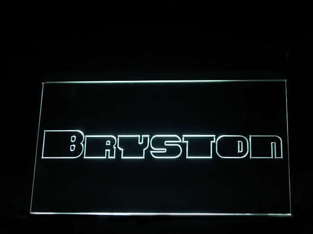 Bryston Audio LED Light Sign