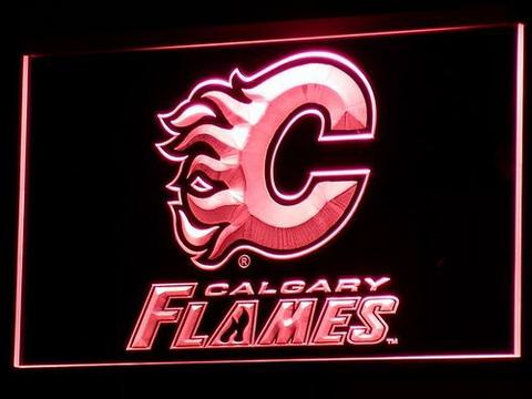 Calgary Flames LED Neon Sign