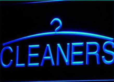 Led Shop Lights >> Laundry & Cleaning : ShackSign.com - Custom Neon Signs ...