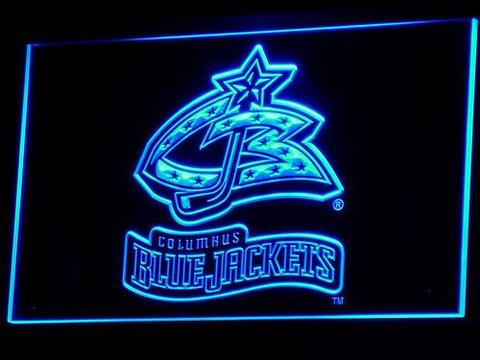 Columbus Blue Jackets 2000-2007 Logo LED Neon Sign