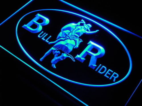 Cowboys Bull Rider LED Sign
