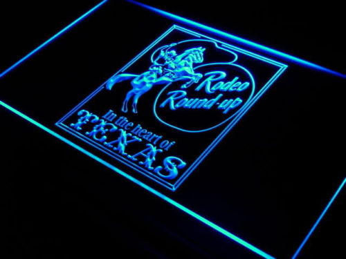 Cowboys Rodeo Texas LED Sign