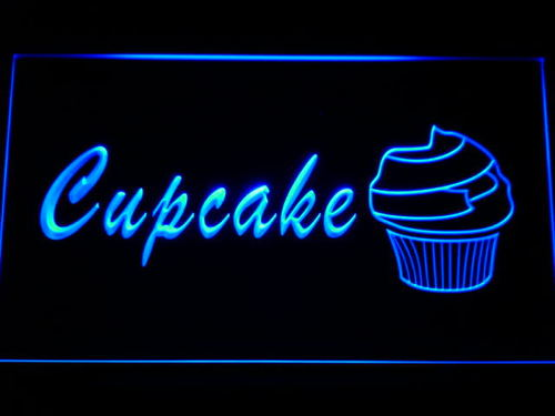Cupcake Cafe Neon Light Sign