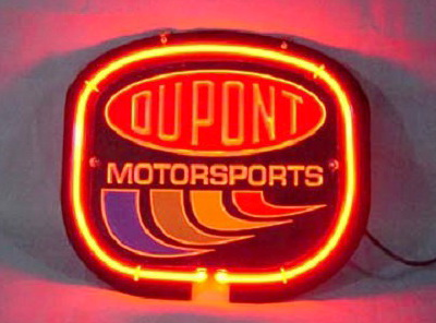 DUPONT MOTOR SPORTS Neon Sign