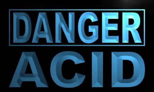 Danger Acid Neon Light Sign