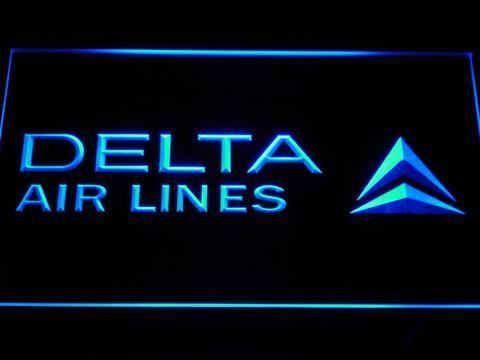 Delta Airlines LED Neon Sign