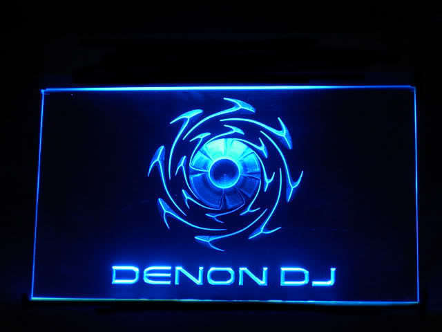 Denon DJ LED Light Sign