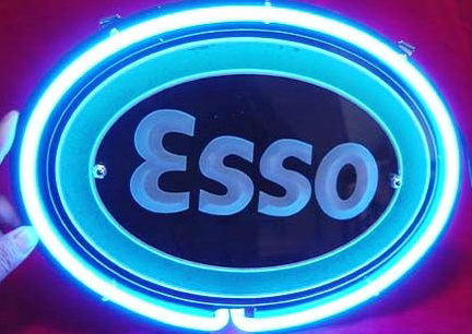ESSO GAS OIL Neon Sign
