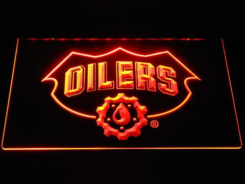 Edmonton Oilers Drop LED Neon Sign