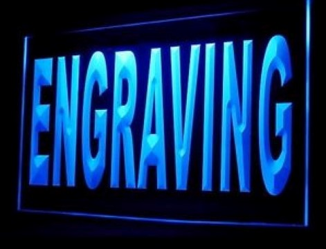 Engraving LED Neon Sign