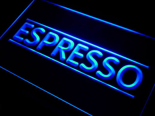 Espresso Coffee Shop Neon Light Sign