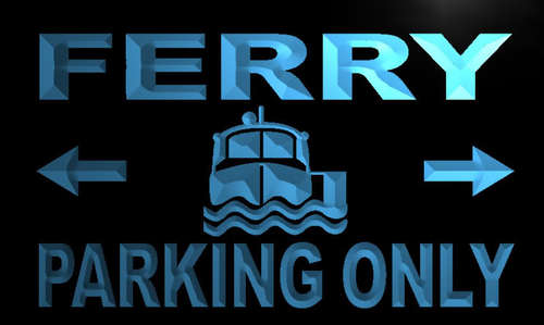 Ferry Parking Only Neon Light Sign