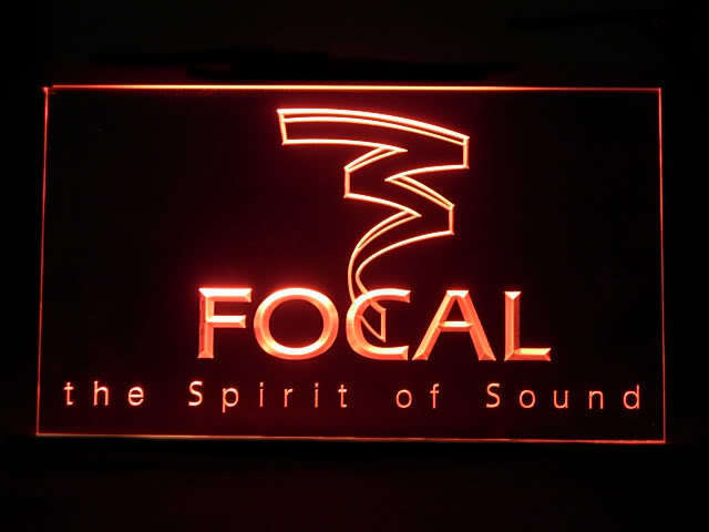 Focal LED Light Sign