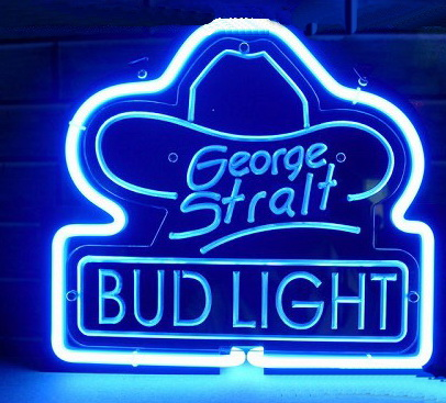 George Straight Neon Sign