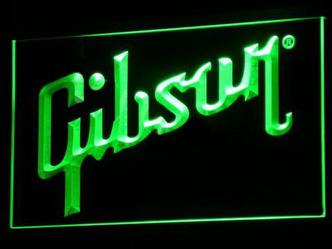Gibson LED Neon Sign