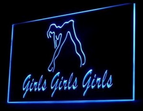Girls Sexy Go Go Night Club LED Neon Sign