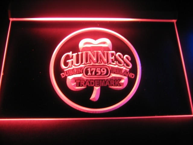 Guinness Dublin Ireland Trademark Logo Beer Bar