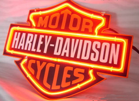 Harley Davidson Motor Cycle Neon Light Sign 3