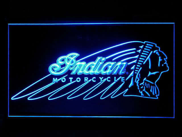 Indian Motorcycle Big LED Sign