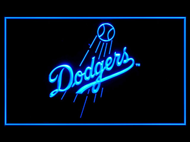 Los Angeles Dodgers Baseball Shop Neon Light Sign