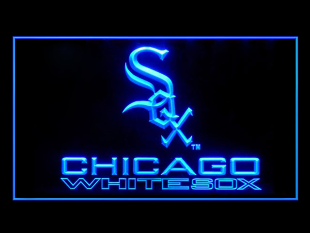Chicago White Sox Baseball Display Shop Neon Light Sign
