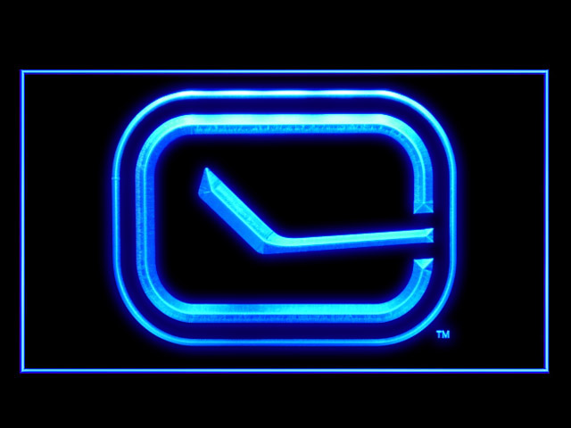 Vancouver Canucks Hockey Shop Neon Light Sign