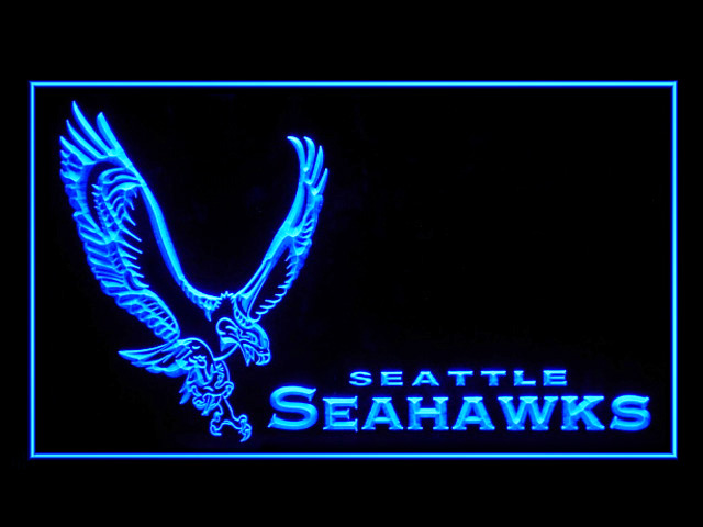 Seattle Seahawks Logo Display Shop Neon Light Sign