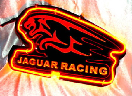 JAGUAR RACING Neon Sign