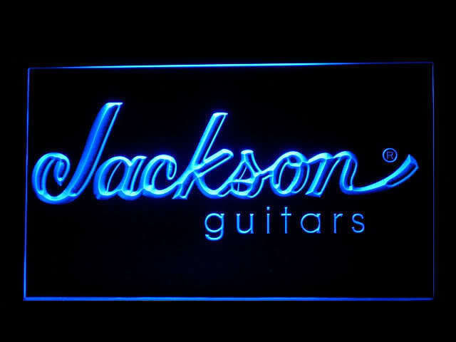 Jackson Guitar Display Led Light Sign