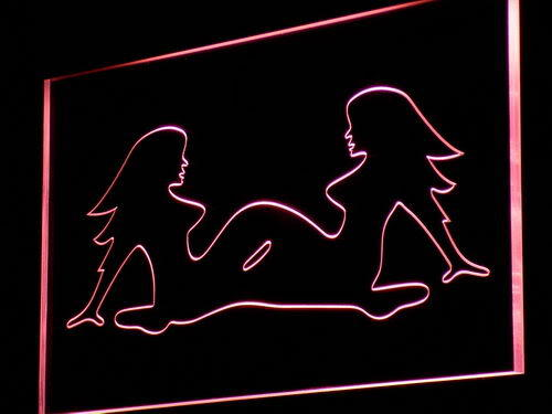 Lesbian Sex Ladies Display Bar Neon Light Sign
