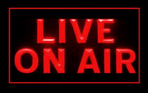 Live On Air LED Neon Sign