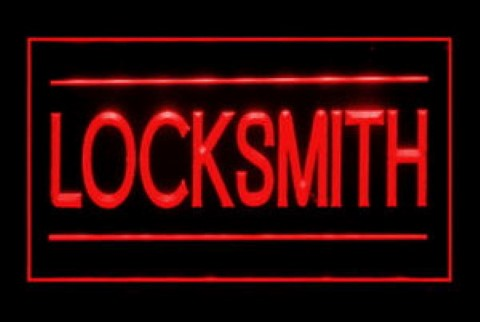 Locksmith 24 hours LED Neon Sign