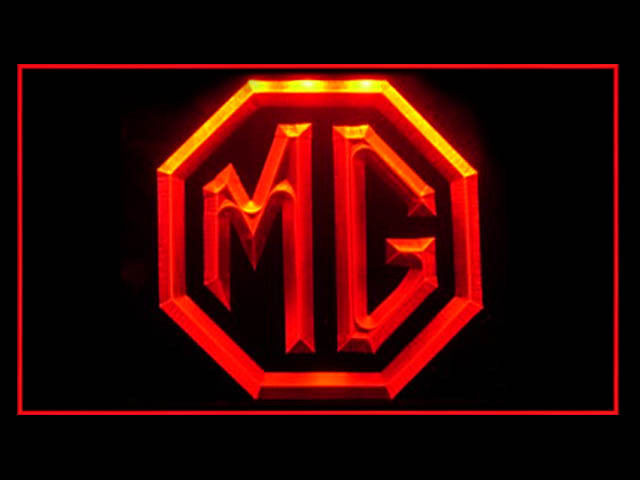 MG Morris Garage LED Light Sign