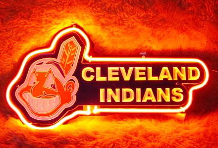 MLB CLEVELAND INDIANS Neon Sign