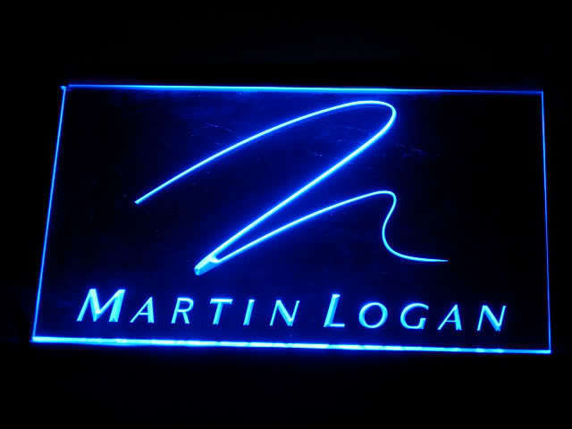 Martin Logan LED Light Sign