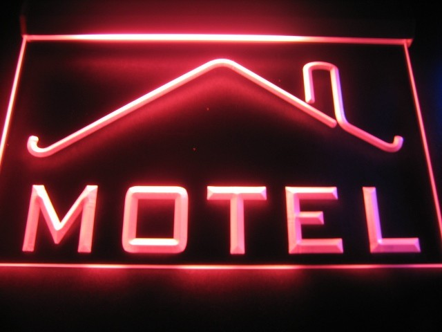 Motel Logo Beer Bar Pub Store Neon Light Sign