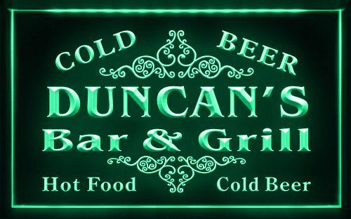 Name Personalized Custom Family Bar & Grill