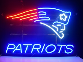 New England Patriots Classic Neon Light Sign 17 x 14
